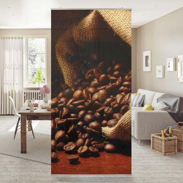 Raumteiler - Dulcet Coffee 250x120cm