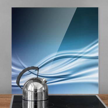 Glas Spritzschutz - Abstract Design - Quadrat - 1:1