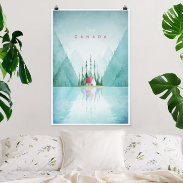 Poster - Reiseposter - Canada - Hochformat 3:2