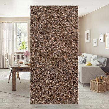 Raumteiler - Sea Of Coffee 250x120cm