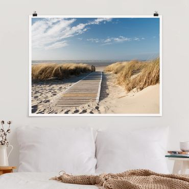 Poster - Ostsee Strand - Querformat 3:4