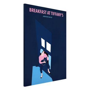 Magnettafel - Filmposter Breakfast at Tiffany´s - Memoboard Hochformat 3:2