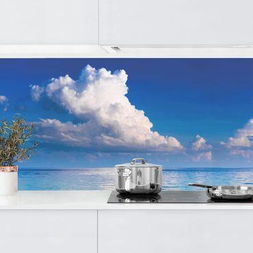 Küchenrückwand - Türkise Lagune
