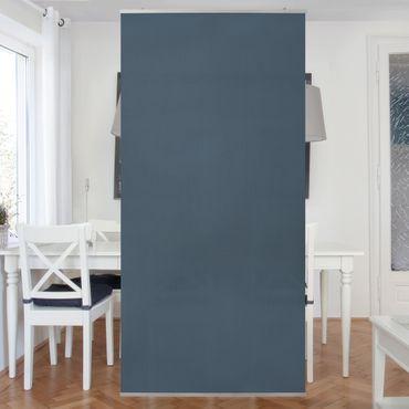 Raumteiler - Schieferblau 250x120cm