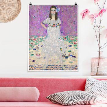 Poster - Gustav Klimt - Mäda Primavesi - Hochformat 3:4