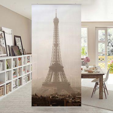 Raumteiler - Tour Eiffel 250x120cm