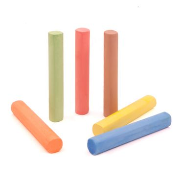 Farbige Kreide (6 Stück)
