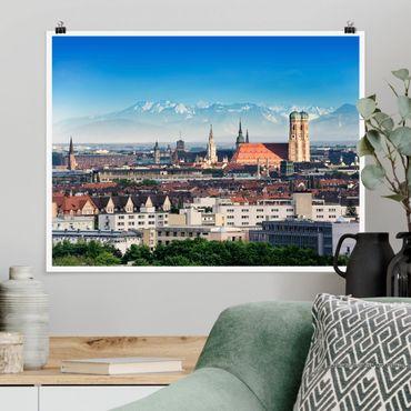 Poster - München - Querformat 3:4