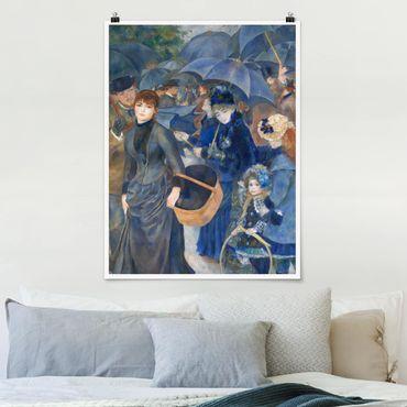 Poster - Auguste Renoir - Die Regenschirme - Hochformat 3:4