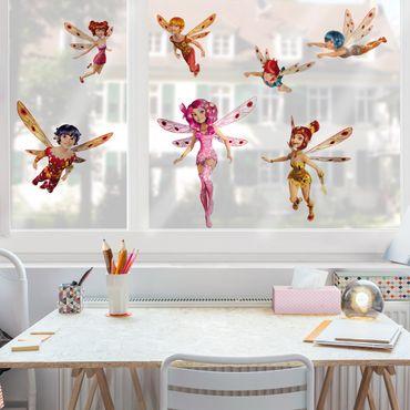 Fensterfolie - Fenstersticker - Mia and Me - Mia und die Elfen von Centopia