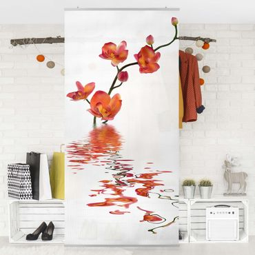 Raumteiler - Flamy Orchid Waters 250x120cm