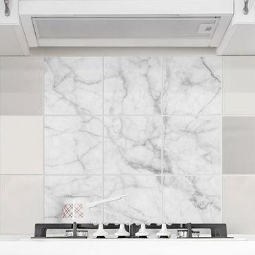 Fliesenbild - Bianco Carrara