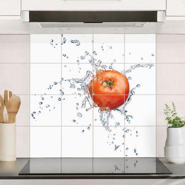 Fliesenbild - Frische Tomate