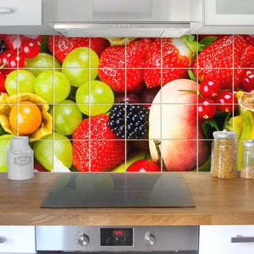 Fliesenbild - Fruit Basket