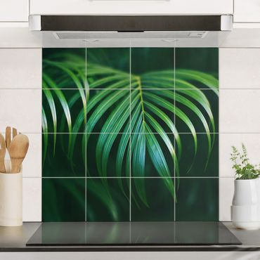 Fliesenbild - Palmenwedel
