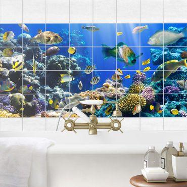 Fliesenbild - Underwater Reef