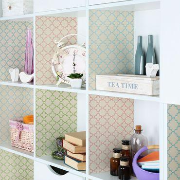 Folie für Möbel - Helles marokkanisches Mosaik in 4 Farben