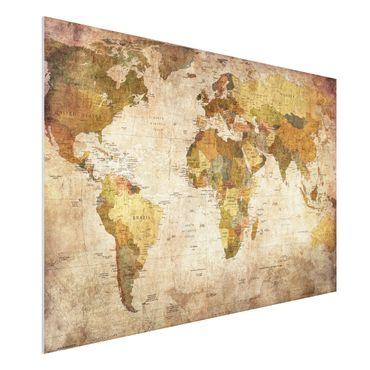 Forexbild - Weltkarte