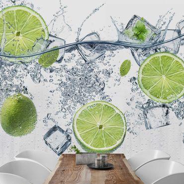Fototapete Erfrischende Limette