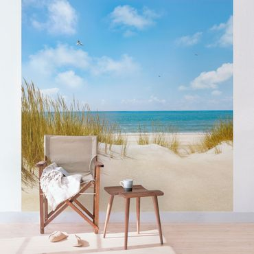 Fototapete Strand an der Nordsee