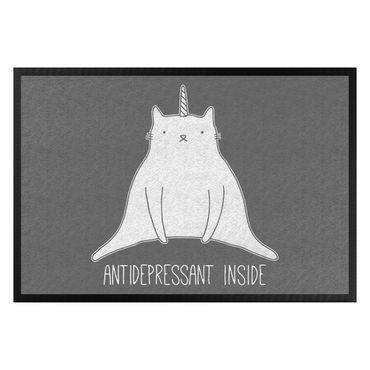 Fußmatte - Antidepressant Inside