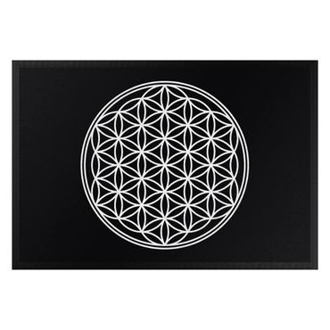 Fußmatte - Blume des Lebens