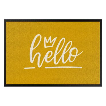 Fußmatte - Hello handwritten