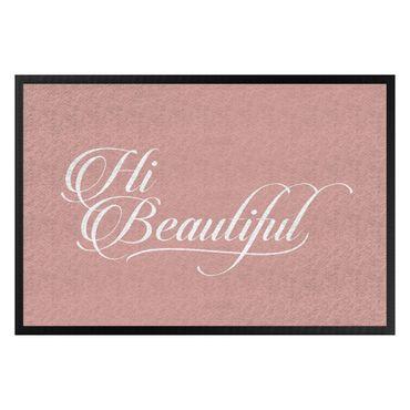 Fußmatte - Hi Beautiful