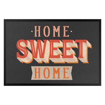 Fußmatte - Home sweet home retro