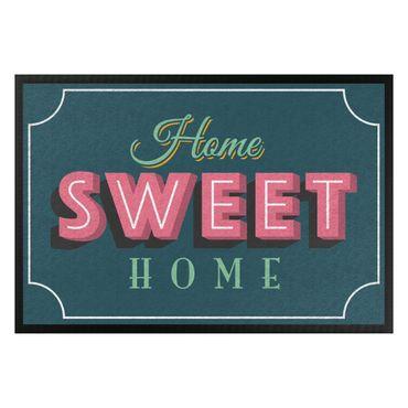 Fußmatte - Home sweet Home Retro II