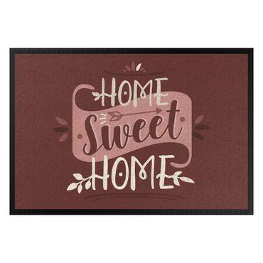 Fußmatte - Home sweet home vintage