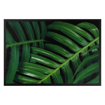 Fußmatte - Palmenblätter