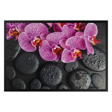 Fußmatte - Pinke Orchidee