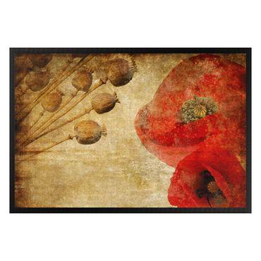 Fußmatte - Poppy Flower