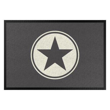 Fußmatte - Stern Symbol