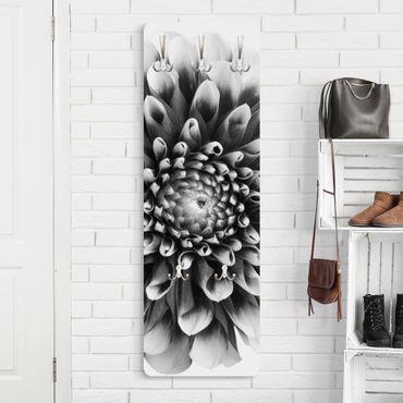 Garderobe Blumen - Aster II - Schwarz