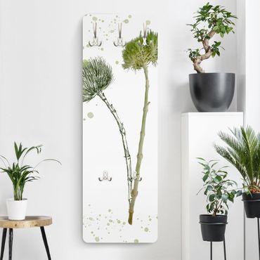 Garderobe - Botanisches Aquarell