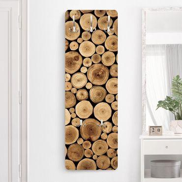 Garderobe Braun - Homey Firewood - Landhaus