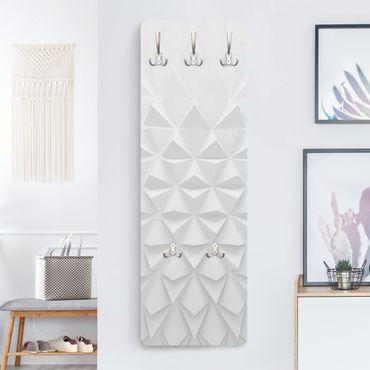 Garderobe - Geometrisches Muster 3D Effekt