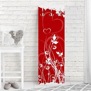 Garderobe - Hearts of Flower - Rot