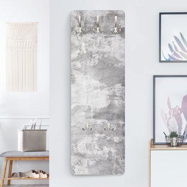 Garderobe - Industrie look Betonoptik