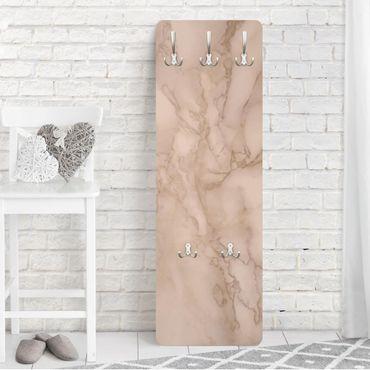 Garderobe - Marmoroptik Grau Braun