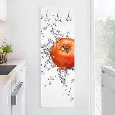 Garderobe Modern - Frische Tomate - Rot Weiß