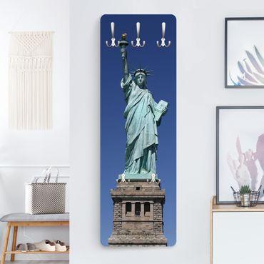 Garderobe New York - Statue of Liberty - Blau