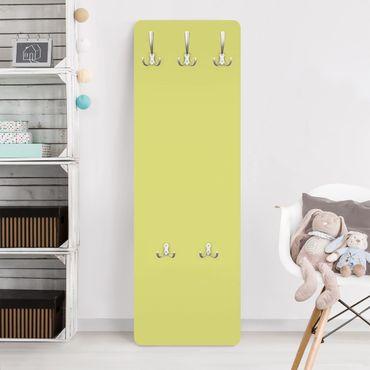 Garderobe - Pastellgrün