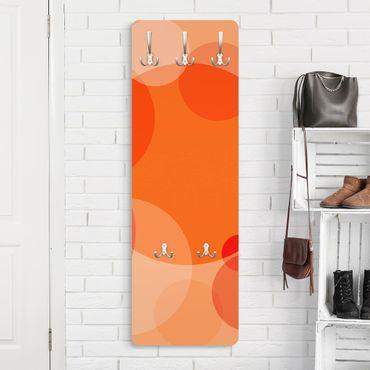 Garderobe Punktemuster - Havanna Lounge No.2 - Orange