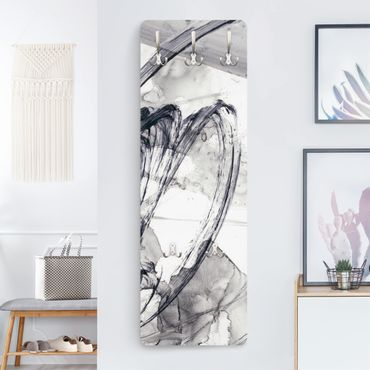 Garderobe - Sonar Schwarz Weiß I