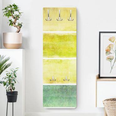 Garderobe Streifenmuster - Colour Harmony Yellow - Gelb