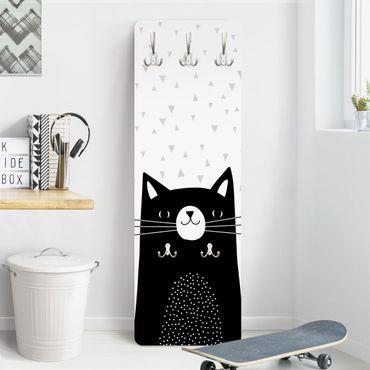 Garderobe - Tierpark mit Mustern - Katze