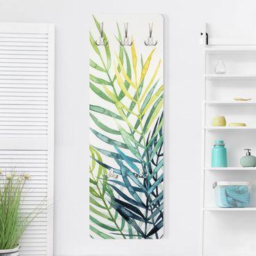 Garderobe - Tropisches Blattwerk - Palme